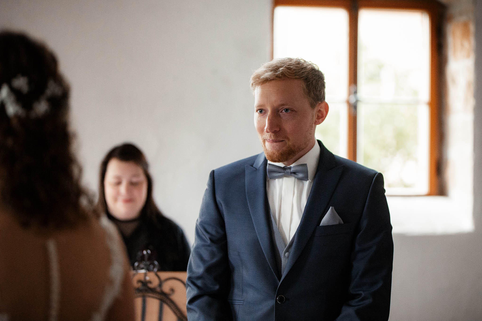 Als Hochzeitsfotograf im Hofgut Ruppertsberg: Hochzeit von Lisa und Max mit freier Trauung 19
