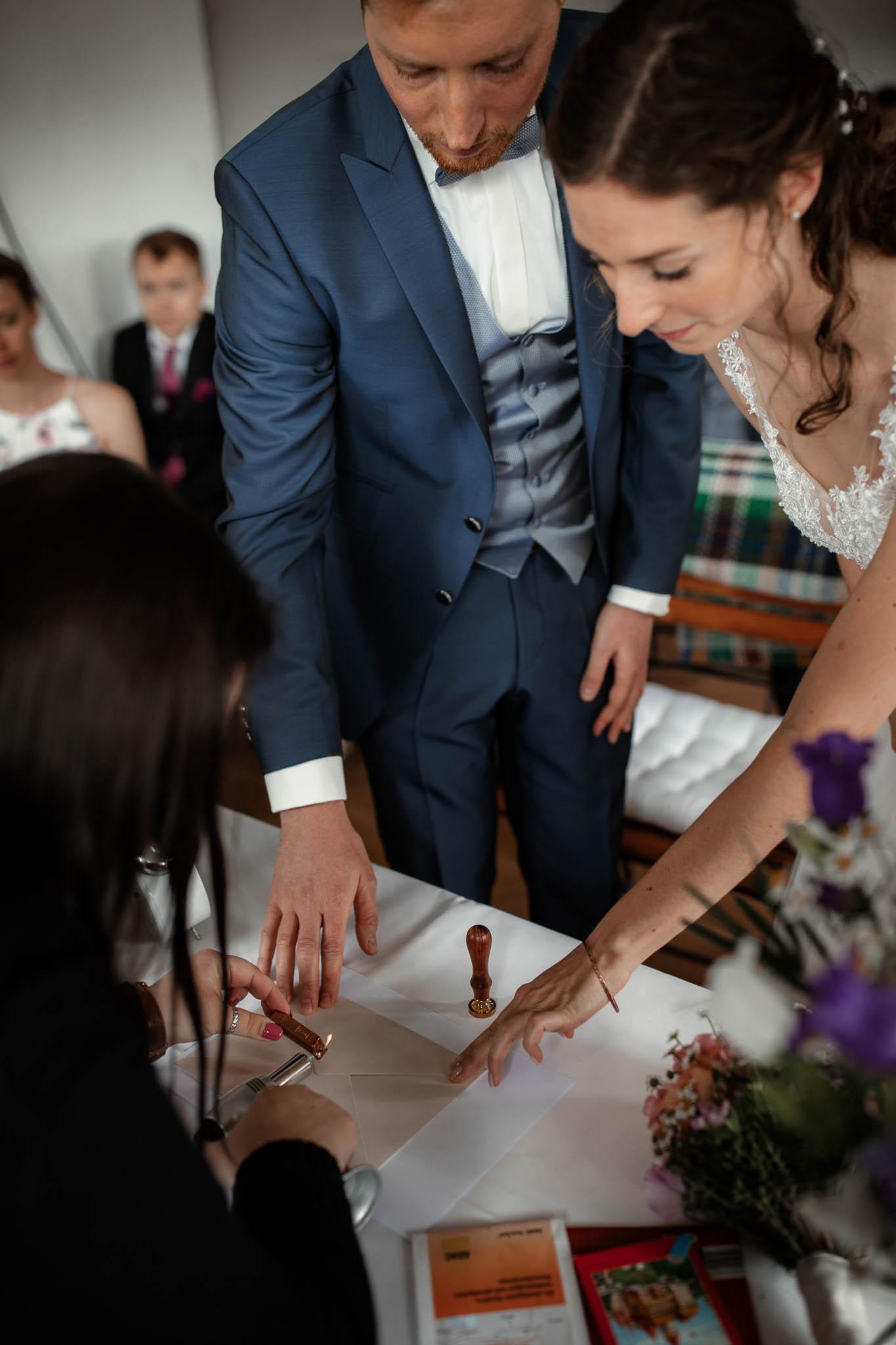 Als Hochzeitsfotograf im Hofgut Ruppertsberg: Hochzeit von Lisa und Max mit freier Trauung 40