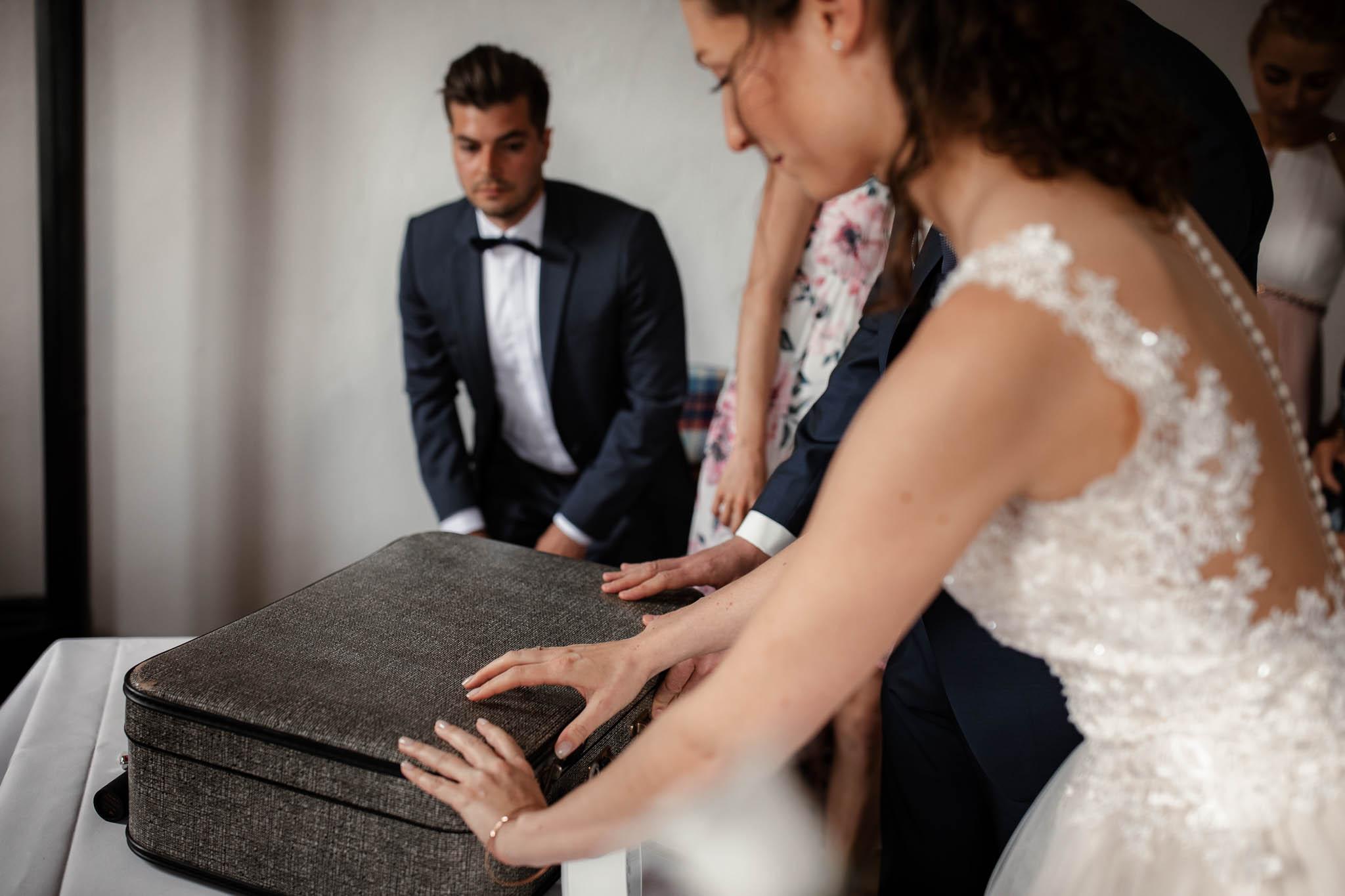 Als Hochzeitsfotograf im Hofgut Ruppertsberg: Hochzeit von Lisa und Max mit freier Trauung 45