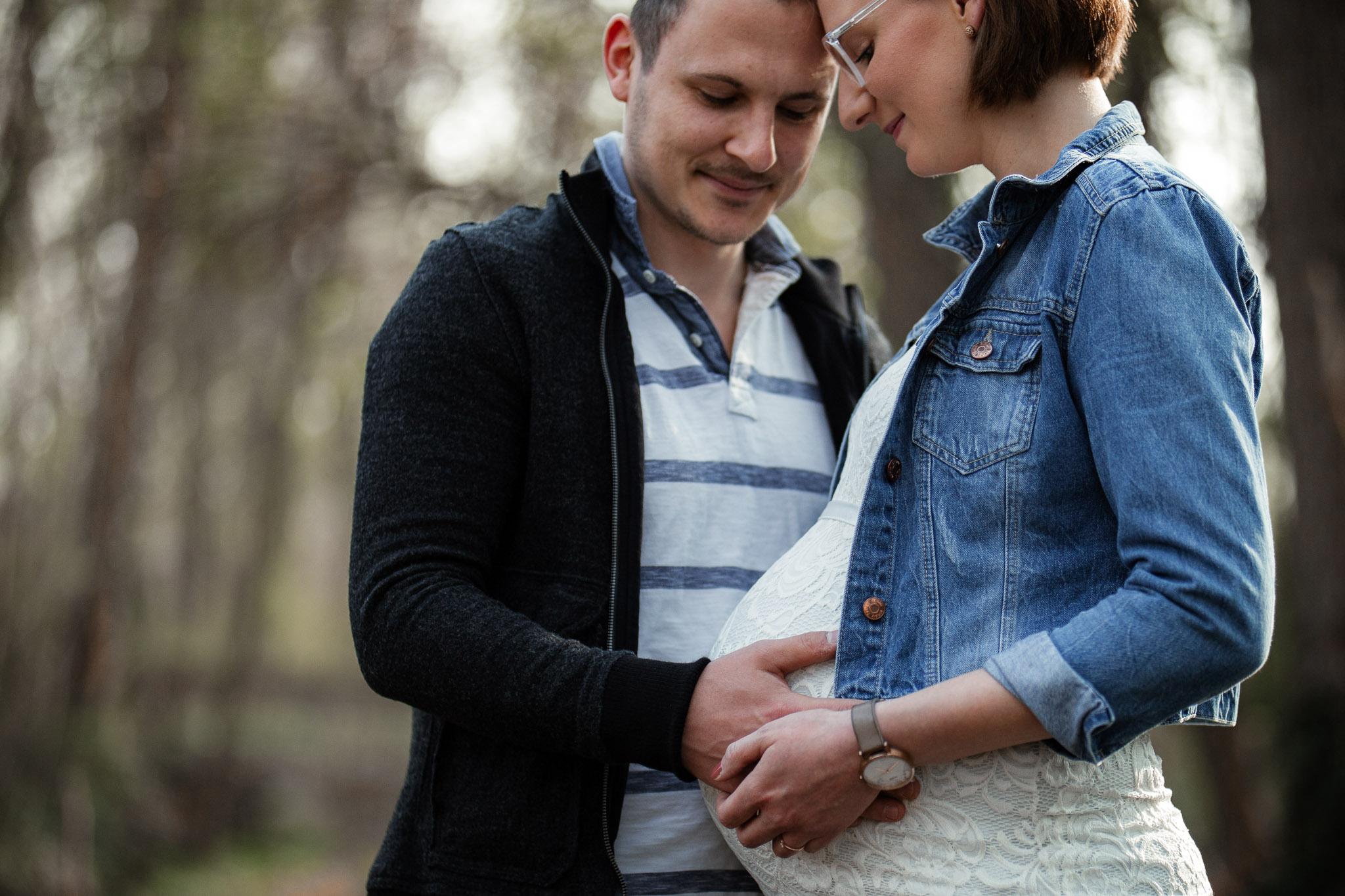 Babybauchfotos in Undenheim: Tamara und Martin 4