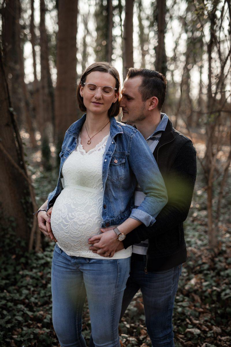 Babybauchfotos in Undenheim: Tamara und Martin 6