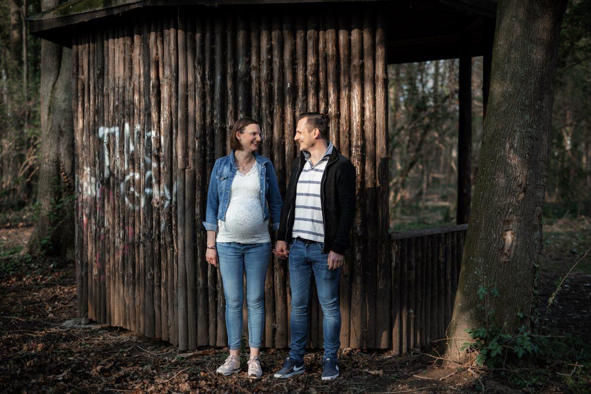 Babybauchfotos in Undenheim: Tamara und Martin 16