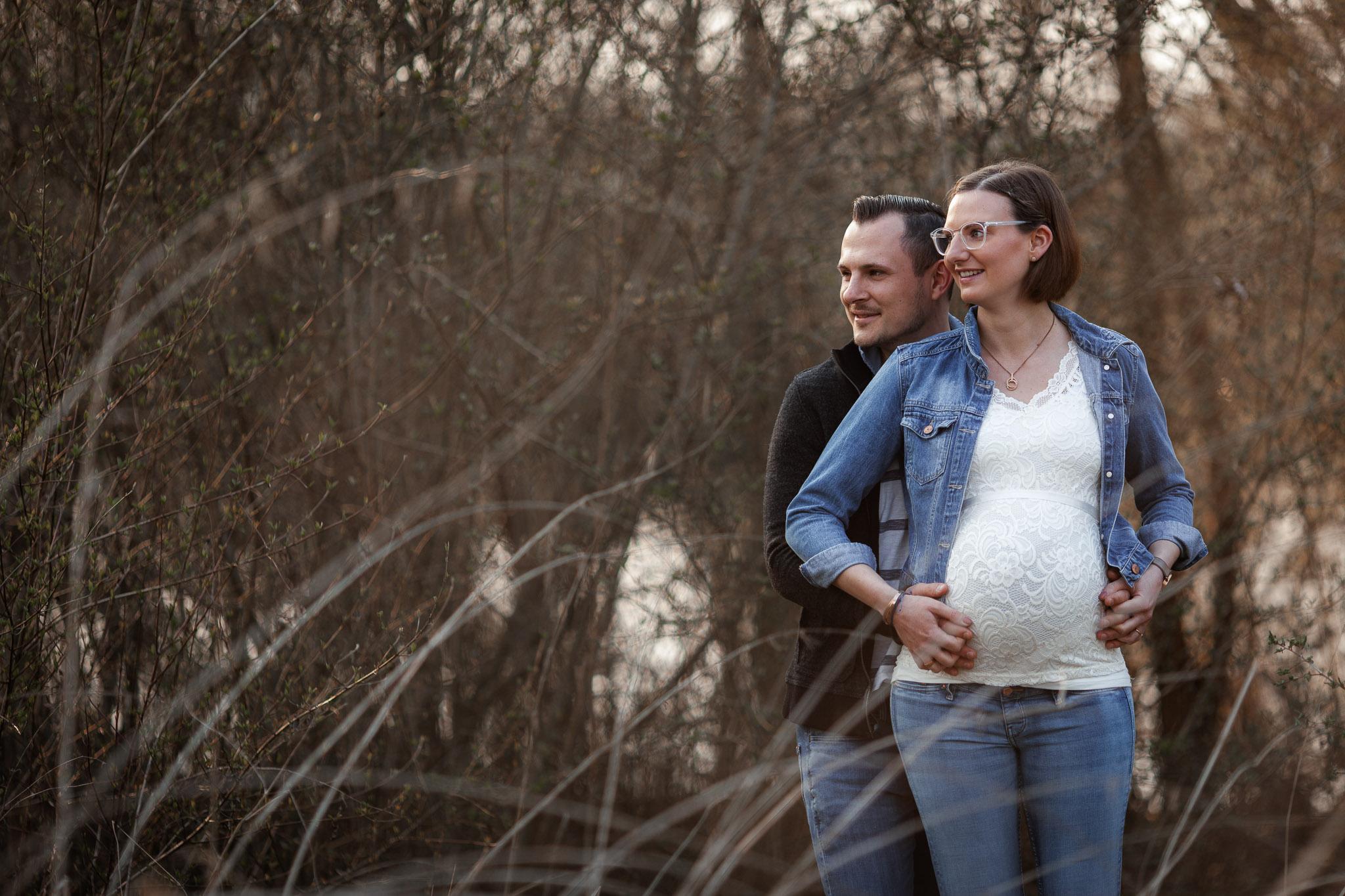 Babybauchfotos in Undenheim: Tamara und Martin 29