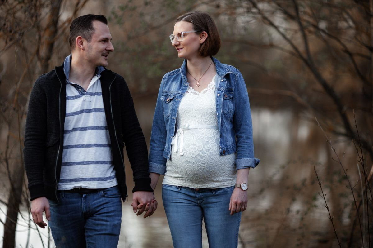 Babybauchfotos in Undenheim: Tamara und Martin 31