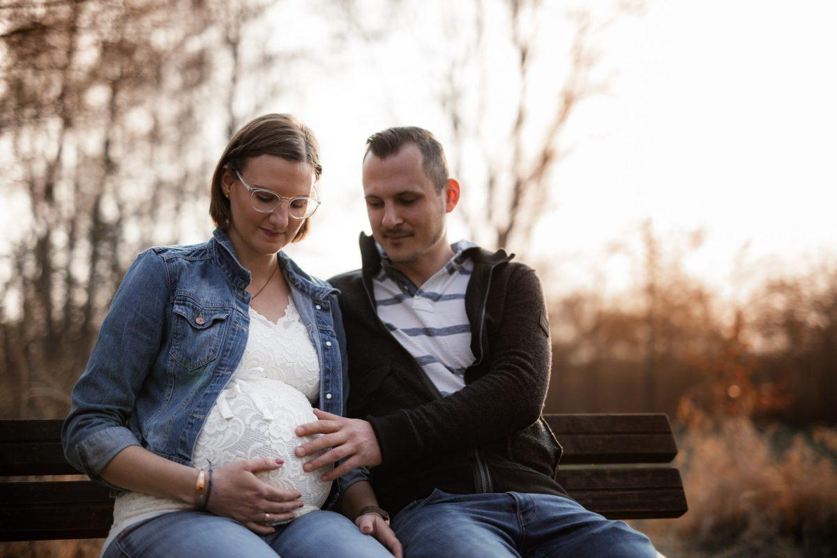 Babybauchfotos in Undenheim: Tamara und Martin 35