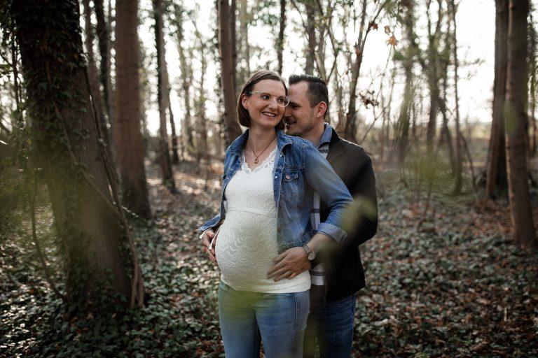 Babybauchfotos in Undenheim: Tamara und Martin