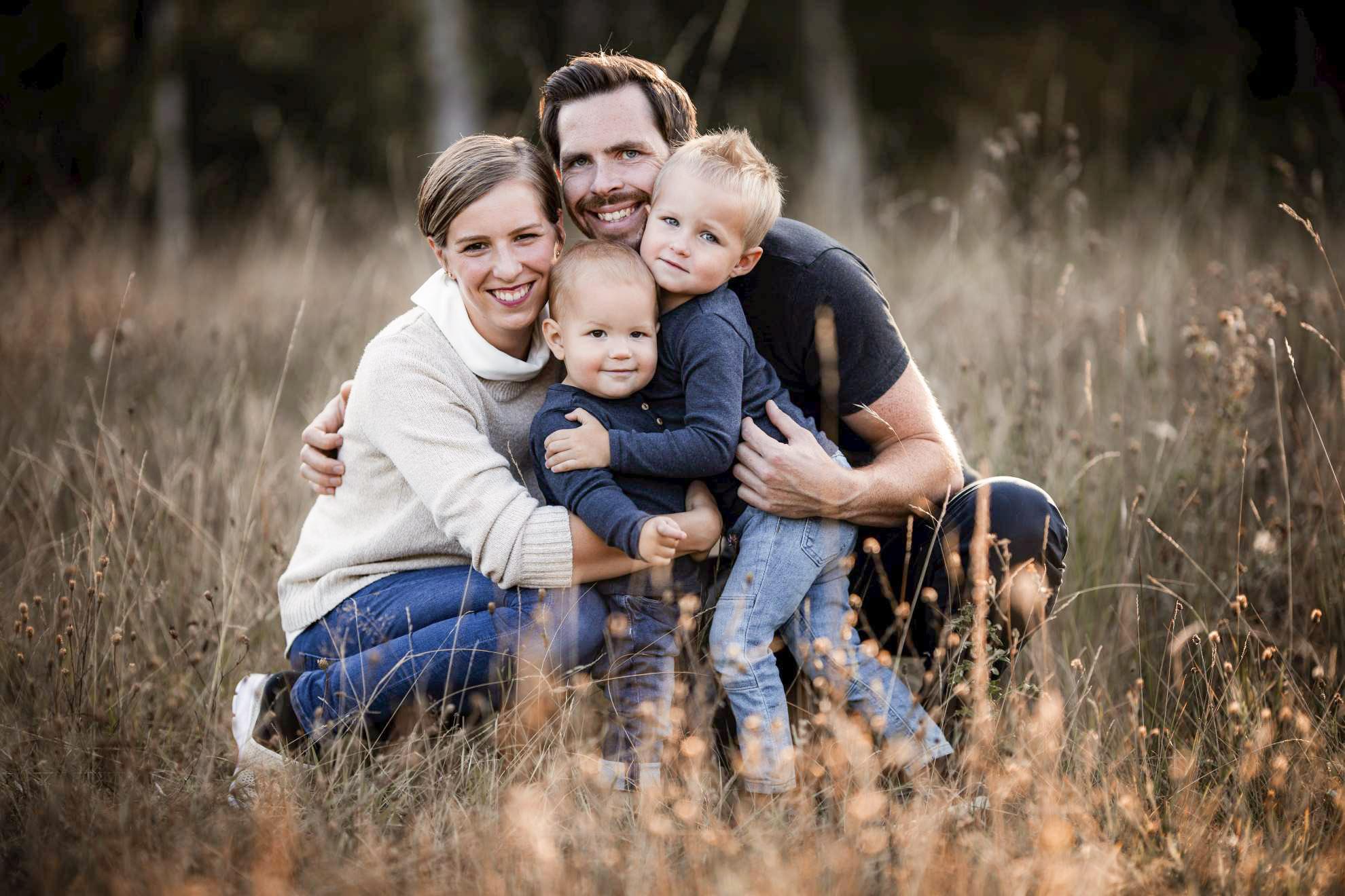 Familienfotos in Mainz: Herbstbilder in der Natur
