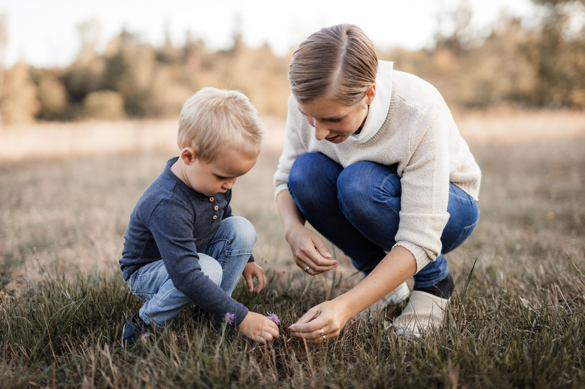 Familienfotos in Ober-Olm: Herbstbilder in der Natur 6